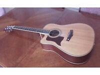 Tanglewood (LEFT HANDED) Electro Acoustic Guitar TW115AS