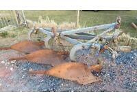 MF 794 Three furrow plough