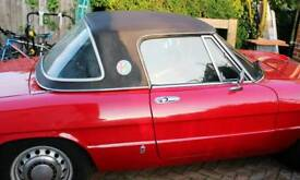 Hard top for Alfa Spider 1970s