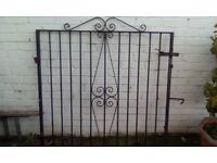 2 Garden/driveway gates