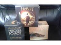 CD.S HOBBIT ..LORD OF THE RINGS..GAME OF THRONES .HERCULE POIROT