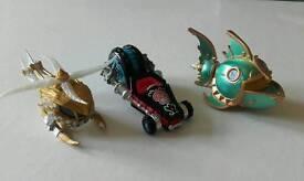 Skylanders vehicles