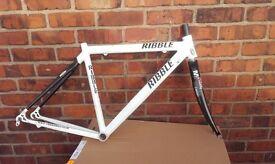 Ribble carbon / allu road bike frame 1175g 47cm 700c - scandium - Dedacciai SC1.10A