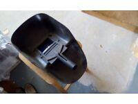 Used hand held welding shield