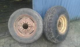 Baler tyres