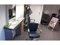 Hair salon renting shopping A1 lisence around brixton with low cost rent shop