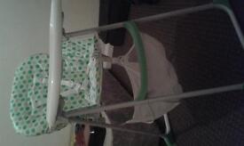 babystart folding highchair