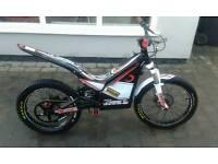 Oset electric trials bike