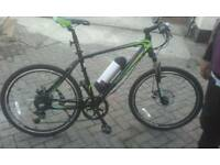 New Electric mountain bike GREEN EDGEBIKES GS2/16