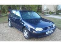 Vw golf tdi s one previous owner