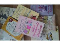 10 BOOKS !!! 5 * Sophie Kinsella + Candace Bushnell + Katie Fjorde + Elisabeth Gilbert + +