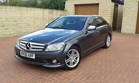 MERCEDES C220 AMG SPORT / PADDLESHIFT GEARS / ANY INSPECTION WELCOME AA/RAC