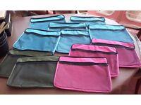 A4 Canvas Zip Bags