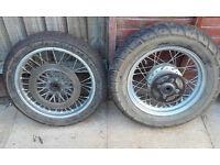 suzuki gz125 front & rear wheels