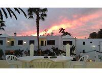 Lanzarote *LARGE, COSY* 1 bed apartment KITCHEN, BEDROOM, BATHROOM, BALCONY, SEA VIEW!!!