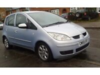 MITSUBISHI COLT 1,5 AUTOMATIC 55 REG SILVER VERY LOW MILES FULL LEATHERS DRIVES PERFECT P/X WELCOME