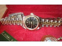 Ladies Rolex Oyster Perpetual Wrist Watch