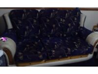 3setter sofa and 2 chairs