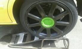 """17"""" inch Audi TT alloys fit audi / vw golf / seat leon Cupra"""
