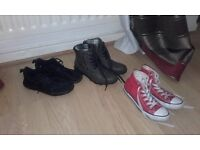 Pick up only . Size 2 boys footwear great condition hardly worn.