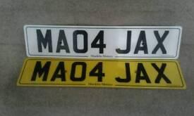 Cherished Number Plate MA04 JAX