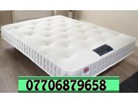 double 10 inch 1000 pocket mattress with memory foam brand new