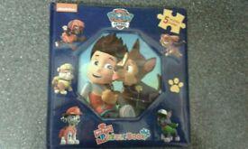 Paw patrol puzzle book