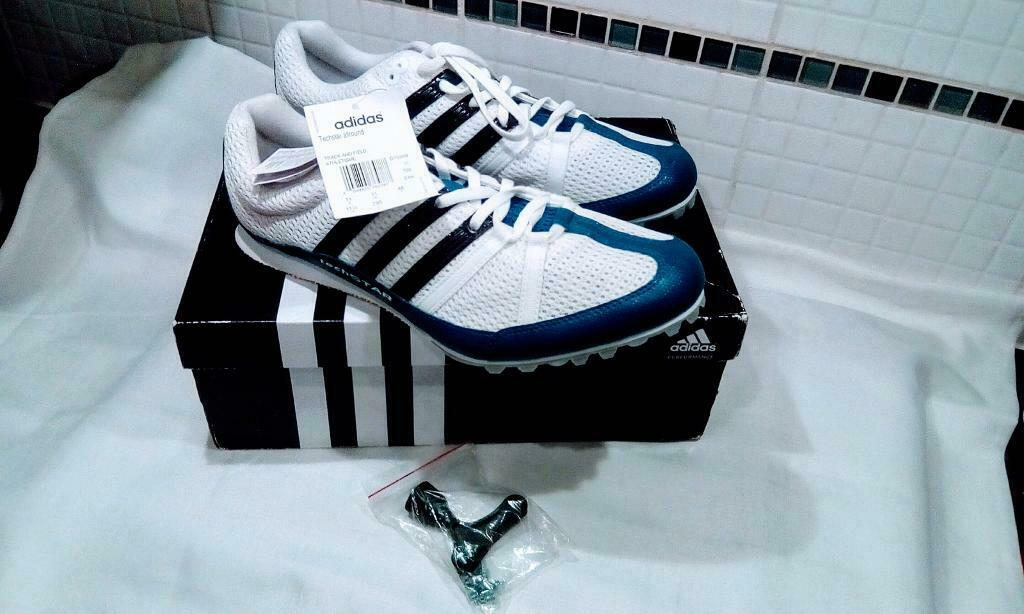 787152424bbac MENS ADIDAS TRACK AND FIELD TRAINERS