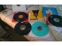 Old skool. Bouncy techno gabber records