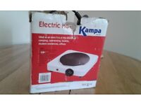Kampa Electric Hob working and still in the box