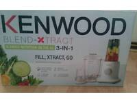 Kenwood food blend- XTRACT 3 -IN-1
