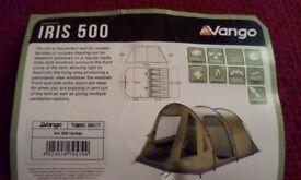 5 MAN VANGO IRIS 500 TENT
