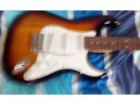 Crafter Cruiser electric guitar for sale including Amp and material bag
