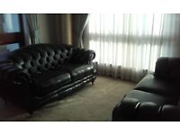 Chesterfield sofas x 2