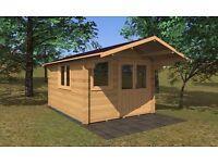 Alva Log Cabin | 3m x 4m | Log Cabins Factory Direct