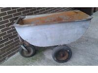 3 wheeled tipping bin