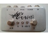 A/B swith splitter box effect fx pedal stomp box