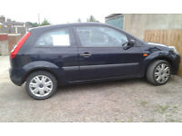 Ford Fiesta 2006, 1.2 petrol, full service history and long MOT. Good clean reliable car