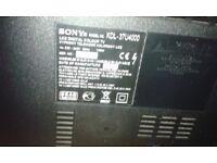 sony bravia 37 inch TV