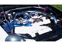 Subaru Impreza WRX turbo (resprayed & remapped)