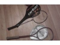 Selection of squash raquets-job lot