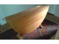 Ercol Light/blonde Gateleg Table, lovely condition