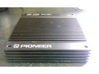 Pioneer Power Car Amplifier GM-2200