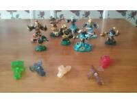 Skylanders figures with Traps