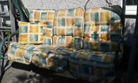 Garden Swing Chair with Cushions