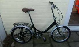 Brand new folding bike Kingston freedom