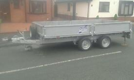 Refurbished ifor williams lm 126g trailer