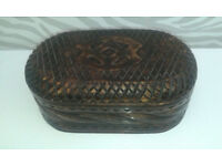 Hand Crafted West African Trinket box, perfect for a gift!