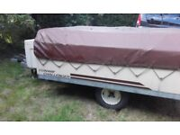 Conway Challenge Trailer Tent/Folding Camper, 4 birth