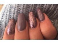 Acrylic nails, gel nails, nail technician, nail extensions, gel polish
